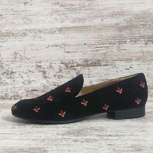 🟥Like New Sam Edelman Embroidered Flats